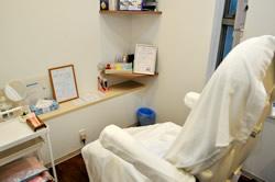 女性も安心の個室完備